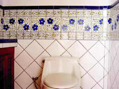 Hand Painted Tiles, Tres Palmas